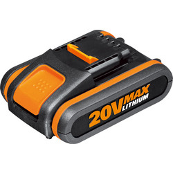 Worx Worx Powershare 20V Li-Ion Battery 2.0Ah - 74550 - from Toolstation