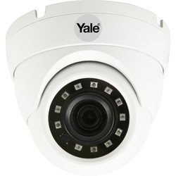 Yale Smart Living Yale Smart Home Wired Dome Camera SV-ADFX-W - 74587 - from Toolstation