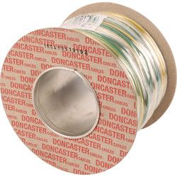 Doncaster Cables Doncaster Cables Earthing Cable (6491X) 2.5mm2 x 100m G/Y Drum - 74637 - from Toolstation