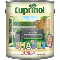 Cuprinol Cuprinol Garden Shades Exterior Paint 2.5L Urban Slate - 74649 - from Toolstation