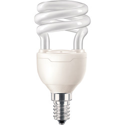 Philips Philips Energy Saving CFL Spiral Lamp 8W SES (E14 ) 505lm - 74708 - from Toolstation