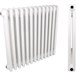 2 Column Radiator 602 x 1374mm 4706Btu - 74770 - from Toolstation