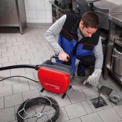 Rothenberger 110V Drain Cleaning Kit & Spiral Kit