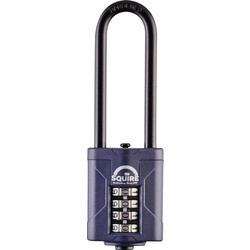 Squire Squire Combination Weatherproof Padlock 40 x 6 x 63mm LS - 74933 - from Toolstation
