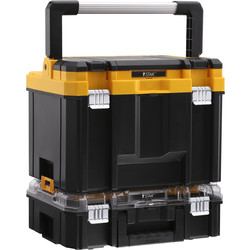DeWalt Dewalt TSTAK Combo Deep Toolbox + Organiser 440mm - 75051 - from Toolstation