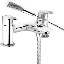 Bristan Bristan Capri Taps Bath Shower Mixer - 75218 - from Toolstation