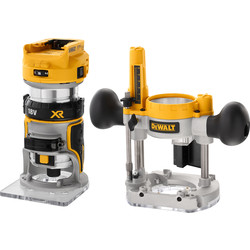 "DeWalt DeWalt DCW604NT-XJ 18V XR Li-Ion Brushless ¼"" Router Body Only - 75238 - from Toolstation"