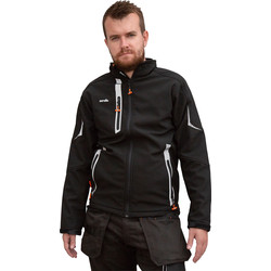 Scruffs Scruffs Pro Softshell Jacket Medium Black - 75254 - from Toolstation