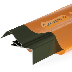 Corrapol Corrapol-BT Rigid Rock n Lock Side Flashing Green 6m - 75326 - from Toolstation