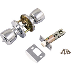 ERA ERA Door Knob Set Privacy Chrome - 75357 - from Toolstation