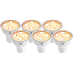 Hive Hive Active Light Dimmable Smart LED GU10 Bulb 4.8W 350lm - 75448 - from Toolstation