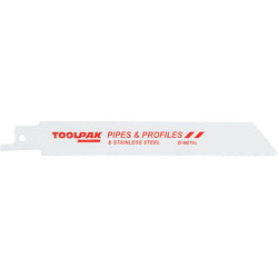 Bi-Metal Reciprocating Saw Blade Sheet Metal - 75460 - from Toolstation