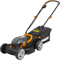 Worx Worx 40V (2x20V) Max 34cm Lawn Mower 2 x 2.0Ah - 75463 - from Toolstation