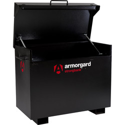 Armorgard Armorgard Strongbank Site Box 1300 x 690 x 970mm - 75554 - from Toolstation