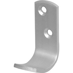 Aluminium Hook Robe - 75646 - from Toolstation