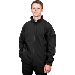 Classic Softshell Jacket Large Black - 75669 - from Toolstation