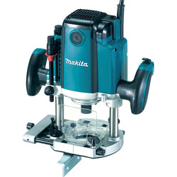 "Makita Makita RP1801X 1650W 1/2"" Plunge Router 110V - 75806 - from Toolstation"