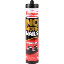 Unibond UniBond No More Nails Original Solvent Free 365g - 75817 - from Toolstation