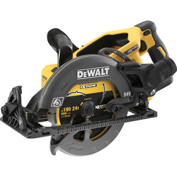 DeWalt DeWalt54V XR FlexVolt 190mm High Torque Circular Saw 2 x 6.0Ah - 75899 - from Toolstation