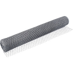 Galvanised Hexagonal Netting 600mm Wide x 25mm