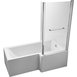 Ideal Standard Square Shower Bath Pack Right Hand