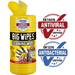 Big Wipes Big Wipes Cleaning Wipes 80 Wipes - 75963 - from Toolstation