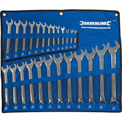 Silverline Combination Spanner Set  - 76085 - from Toolstation