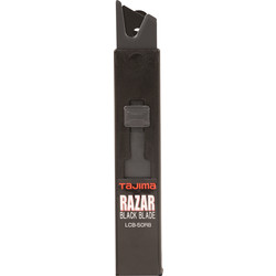 Tajima Tajima 18mm Razar Black Snap-Off Knife Blades  - 76312 - from Toolstation