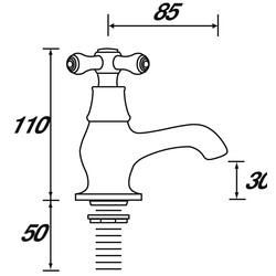 Bristan Colonial Bath Taps