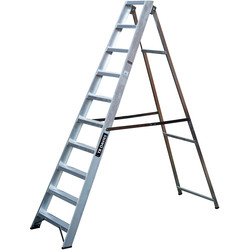 TB Davies TB Davies Industrial Swingback Step Ladder 10 Tread SWH 3.4m - 76608 - from Toolstation