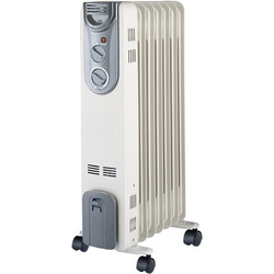Oil Radiator 1.5kW - 76732 - from Toolstation