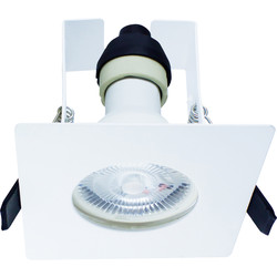 Integral LED Integral LED Square Evofire IP65 Fire Rated Downlight White with Insulation Guard - 76734 - from Toolstation