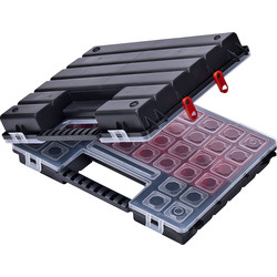 Tandem Twin Storage Case 385 x 283 x 100mm - 76772 - from Toolstation