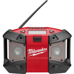 Milwaukee Milwaukee C12JSR-0 12V Li-Ion Compact Jobsite Radio  - 76843 - from Toolstation