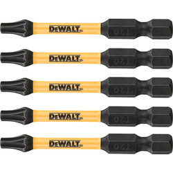 DeWalt DeWalt Impact Rated Torsion Bits T20 - 76861 - from Toolstation