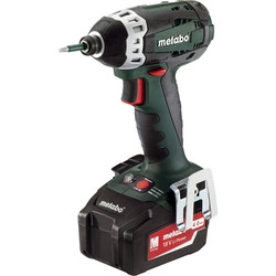 Metabo Metabo SSD 18 LTX 200 18V Li-Ion Cordless Impact Driver 2 x 4.0Ah - 76880 - from Toolstation