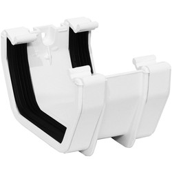 Aquaflow Square Line Union Bracket White - 76969 - from Toolstation