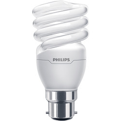 Philips Philips Energy Saving CFL Spiral Lamp 12W BC (B22d) 741lm - 76987 - from Toolstation