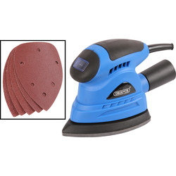 Draper Draper 23039 130W Detail Sander 230V - 77046 - from Toolstation