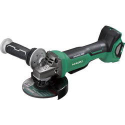 Hikoki Hikoki G3613DB 36V 125mm MultiVolt Brushless Grinder Body Only - 77056 - from Toolstation