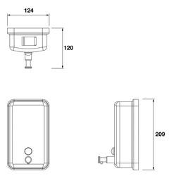 Metlex Kepler Soap Dispenser