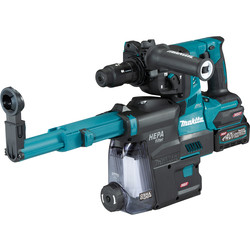 Makita Makita XGT 40V Max Rotary Hammer with Dust Extractor 1 x 2.5Ah - 77091 - from Toolstation