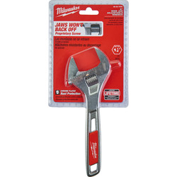 Milwaukee Wide Jaw Adjustable Wrench