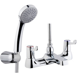 Ebb and Flo Contract Lever Taps Bath Shower Mixer - 77174 - from Toolstation