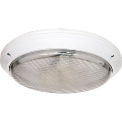 Meridian Lighting 2D Circular IP65 Bulkhead 28W - 77258 - from Toolstation