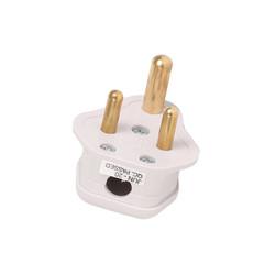 Plug Top Round 3 Pin Plug