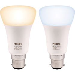 Philips Hue Philips Hue White Ambiance Lamp B22/BC - 77423 - from Toolstation
