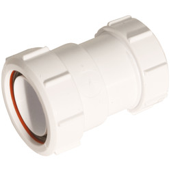"McAlpine McAlpine Straight Connector 1 1/2"" Multi Fix x Din - 77517 - from Toolstation"