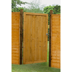 Forest Forest Garden Dip Treated Featheredge Gate 182cm (h) x 91cm (w) x 4.4cm (d) - 77548 - from Toolstation
