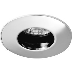 Cast IP65 240V/12V Downlight Polished Chrome